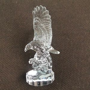 Vintage Goebel Crystal Clear Eagle Figurine